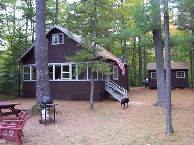 Photo for Enjoy Sebago w/out the Hustle & Bustle! Relaxing Tranquil Cottage,  Pets Free!