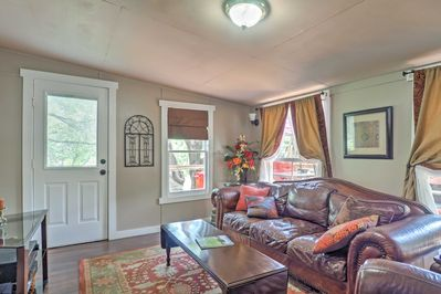 With accommodations for 6, the home has enough room for all!
