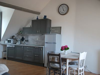 """Photo for """"Symp-attic"""" 2 rooms in Honfleur Heart"""