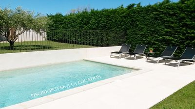 PISCINE PRIVEE A LA LOCATION