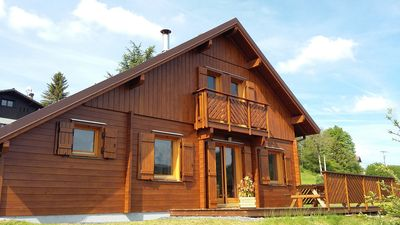Photo for CHALET BOIS MASSIF 4 * - AIRELLES 4 pers. Free WIFI