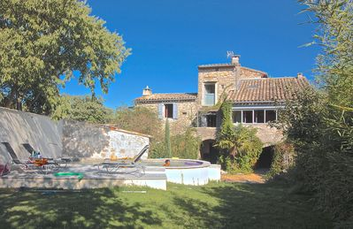 Photo for Distinguished farmhouse, away from the crowd, Uzés, Anduze