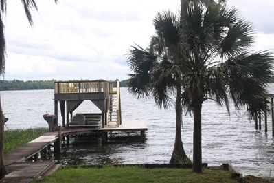 View of Private Dock and Lake