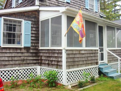 Photo for Adorable  Saco-Camp Ellis Beach Cottage -- Just Steps from the Water!