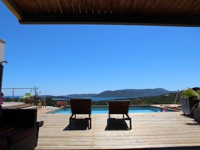 Photo for Contemporary Home Trinity Porto Vecchio Magnificent views