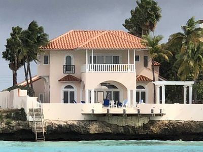house as seen from the sea
