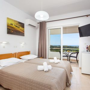 Photo for Savviou Rooms Apartments With Private Balcony, Sea & Mountain Views