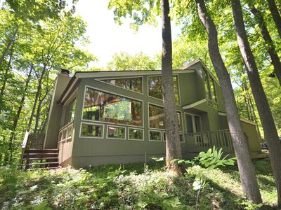 Photo for Lodge style multi level home-Glen Arbor at the Homestead