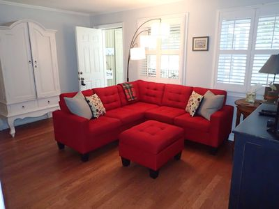 Photo for Cozy Coastal Cottage Centrally Located -  Family Friendly (Side B)