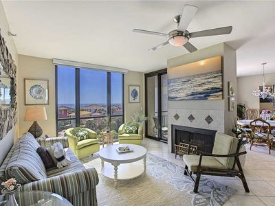 Photo for Enclave 703B - Gulf Views, Community Pool, Tennis & Volleyball Courts!