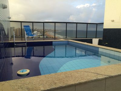 Photo for Luxury Duplex penthouse with private pool on the edge of Salvador
