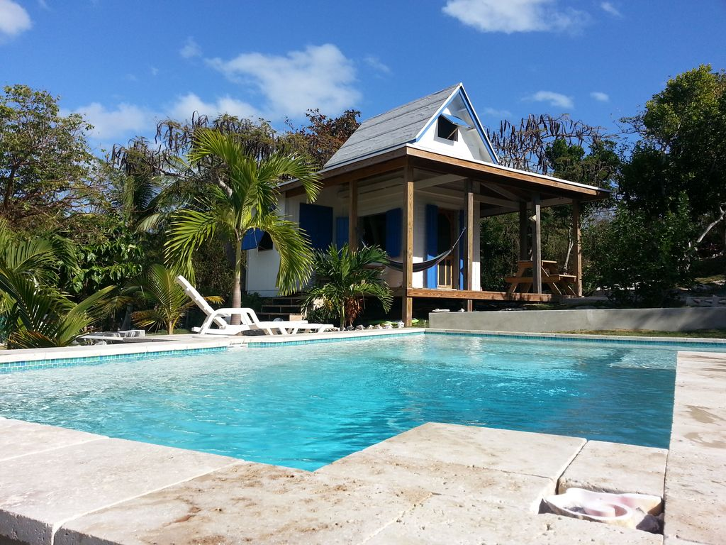 Waterfront cottage with pool tamarind tree 1 pick lonely Cottages to rent with swimming pools
