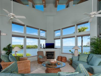 SPECTACULAR PROPERTY!! Secluded BEACH  dramatic panoramic views of Pine Island Sound.