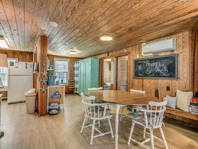 Photo for Experience a Nostalgic beach cottage just a short walk to the beach Kid friendly
