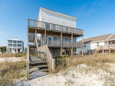 Photo for Camp David Whole House: 4 BR / 2 BA home in Oak Island, Sleeps 10