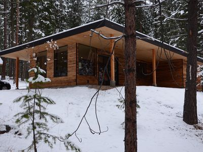 Photo for Asa Cabin--Peaceful and Stylish Retreat in beautiful Mazama, WA!