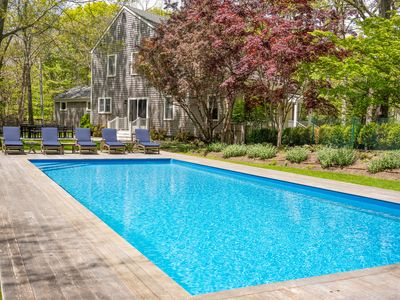 Photo for Fully Furnished 4 BD in E Hampton w/ Heated Pool
