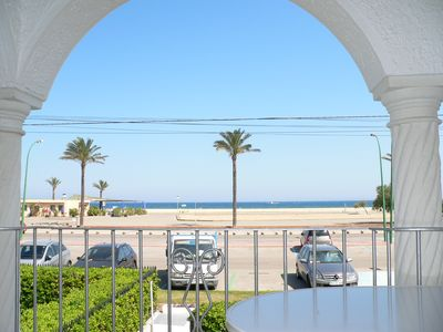 Photo for Large apartment Salins beachfront, clean and well maintained