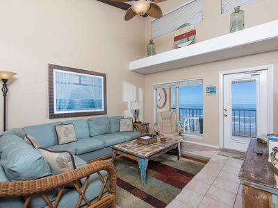 Photo for Suntide II 505 - Top Floor Condo w/ Vaulted Ceilings, Private Balcony, Beachfront Pool & Spa, Direct Ocean Access