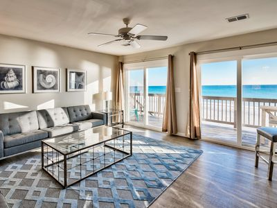 Photo for 4 Bedroom Gulf Front Beach Home, 30A Best Beach, Completely remodeled Jan  2018!