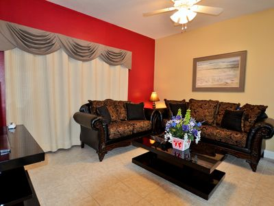Photo for Great value 1650sqft 4br/3ba condo,2 miles to Disney,next to mall(restaurants)