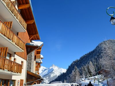 Photo for Attractive apartment at the ski run in Valfréjus