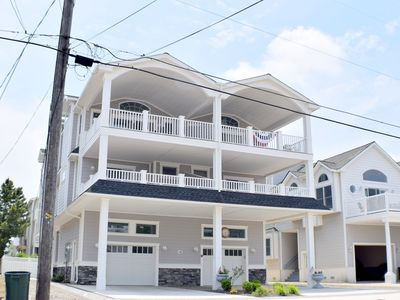 Photo for Beach Block Brand New Over Sized Town House. with an elevator!