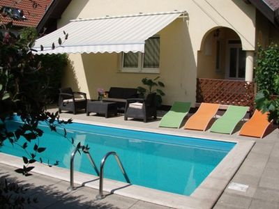 Photo for Holiday house with swimming pool, ideal for families with children