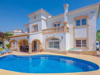Photo for 5 bedroom Villa, sleeps 10 in La Fustera with Pool and WiFi