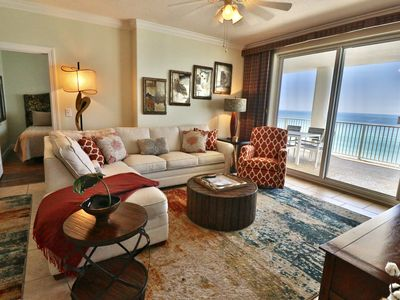 Photo for Ocean Ritz 4 BR 4 BA 2 master bedrooms on the water!