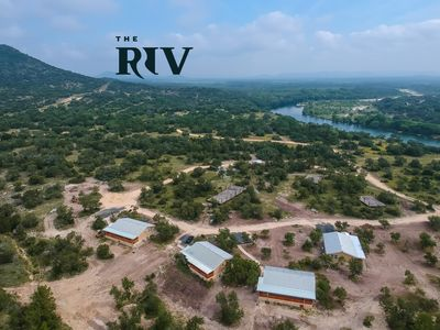 Photo for The Riv Resort: Cabin 3 of 4 on the Nueces River, 5 minutes south of Camp Wood
