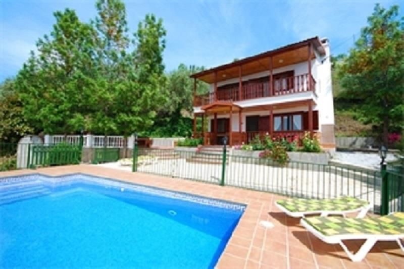 Exceptional Holiday House For 8 Persons, With Swimming Pool. Sayalonga House Rental