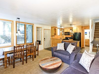 Photo for Updated 2BR, Steps to Ski Slopes - Access to Shared Pool & Hot Tub
