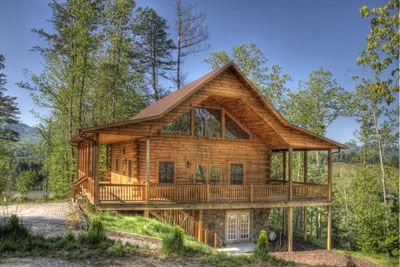 Photo for Deep Creek Overlook Luxury Cabin & Gameroom Featured on HGTV Log Cabin Living