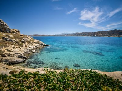 Photo for SUPERB VILLA IVI IN NAXOS ISLAND FOR 10 GUESTS WITH PRIVATE POOL NEXT TO SANDY BEACHES
