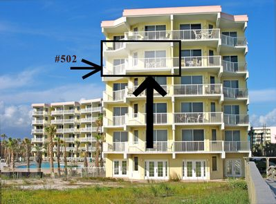 502 is 1 of 10 condos directly ON the ocean at Destin West w/ a wrap balcony!