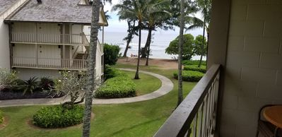 Photo for Kauai Ocean View Condo Top Floor In A Convenient Location On The Garden Isle !