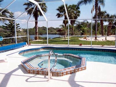 Heated pool-spa-Wifi-fishing pier