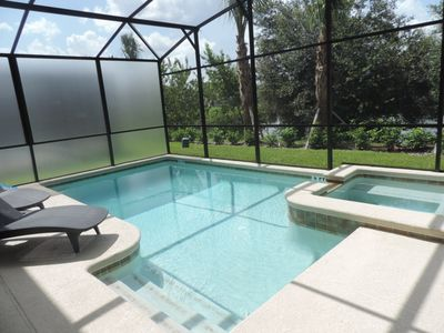 Photo for AMAZING HOME AT PARADISE PALMS RESORT 5 BED 4 BATH JACUZZI & POOL