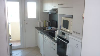 Photo for Large bright and air conditioned T2 with large garage in Fréjus-Plage PROMOTION AUGUST