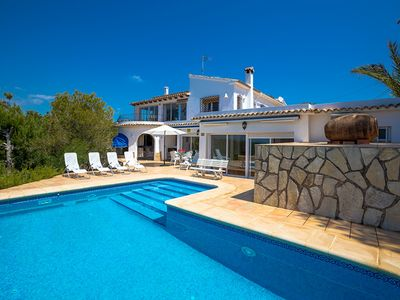 Photo for ARC, beautiful villa in Benissa with pool and sea views,free wifi