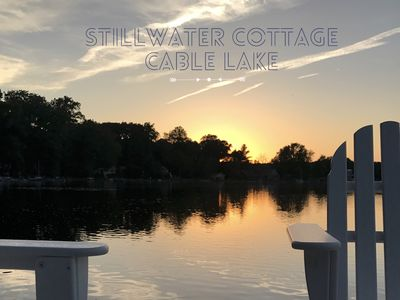 Photo for Stillwater Cottage - Gorgeous Retreat On Peaceful, Private Cable Lake!