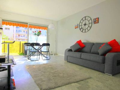 Photo for (009) Charming Studio 100m from the beaches, Balcony + Parking