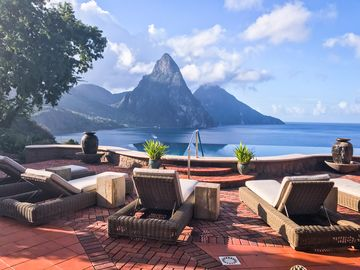 Owner Listing: Caille Blanc Villa - the Ultimate in St. Lucia Luxury -WOW FACTOR