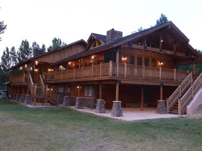 Photo for Bitter Root Riverside Retreat 7000+ Sq ft Home along the Bitter Root River 5 Sta