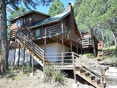 Photo for Private Cabin near Golf w/ WiFi, Fireplace, Conservation Views & Big Screen TV
