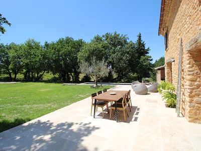 Photo for AUTHENTIC STONE MAS WITH SWIMMING POOL IN THE COUNTRYSIDE