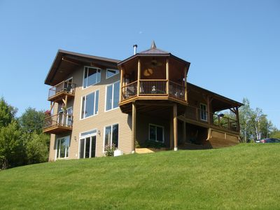Photo for Timber Frame Water Front Chalet