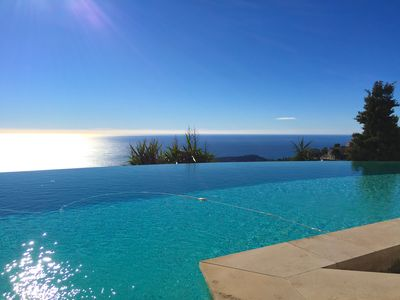 Photo for Spectacular Villa overlooking St Jean Cap Ferrat !
