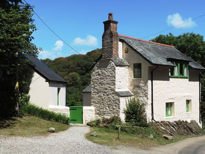 Photo for Waterside 16c Cottage with a boat. Private, no neighbours! July, September dates